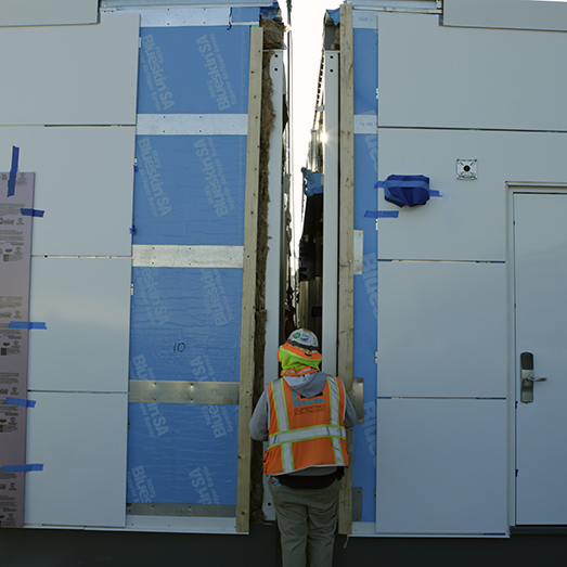 prefabricated modular solutions installation