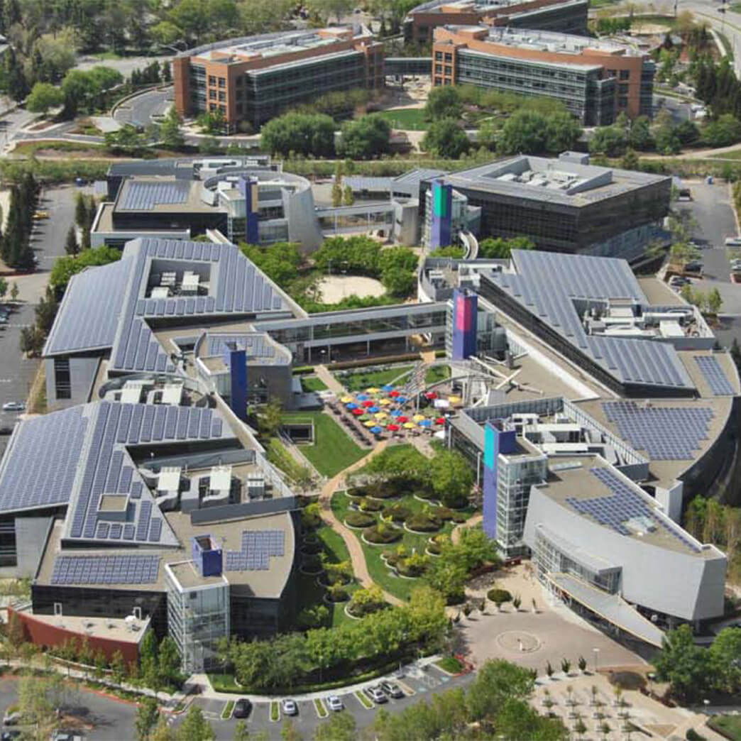 Cupertino Electric installs the largest solar project on a single corporate campus for Google