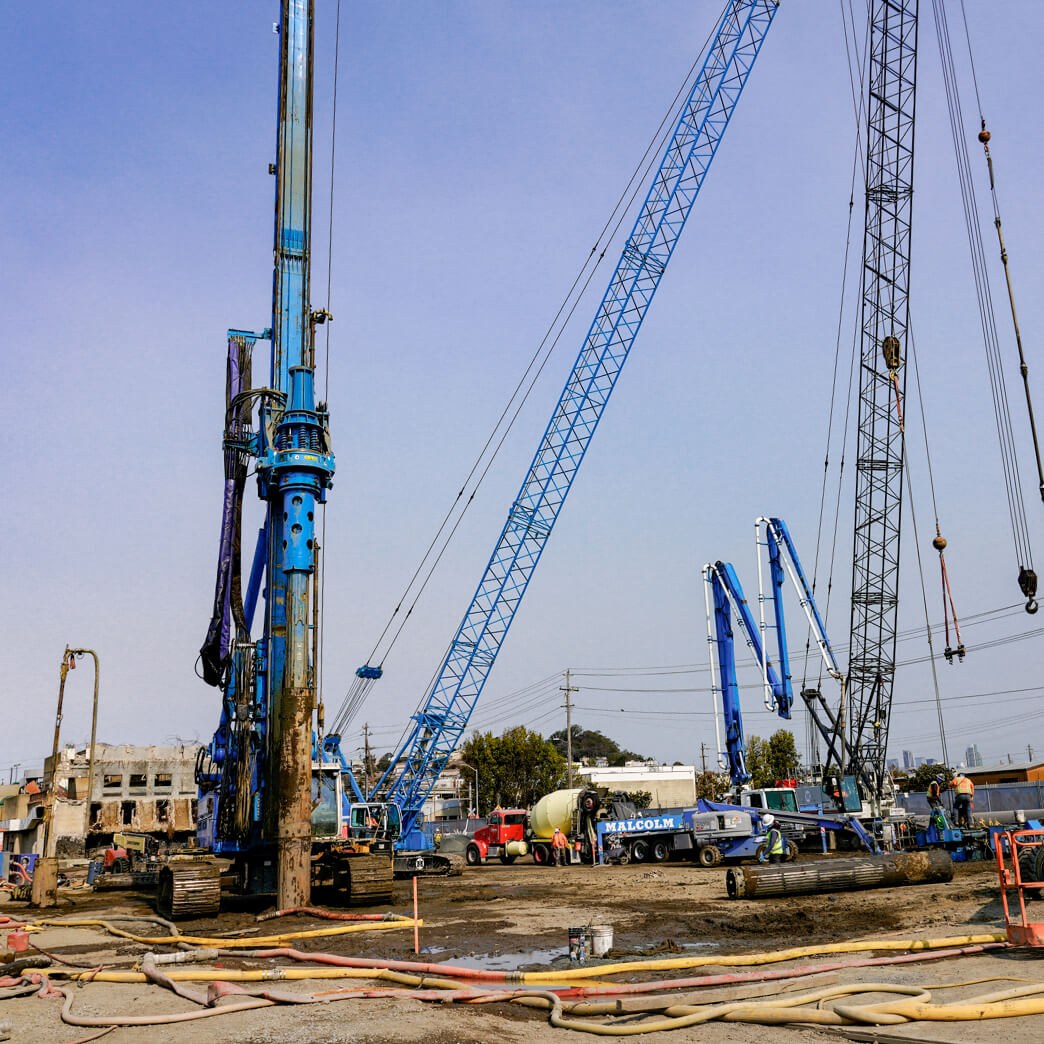 Cupertino Electric works on the San Francisco Public Utility Commission Headworks