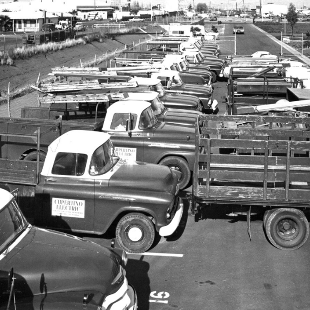 The Cupertino Electric fleet in the 1950s