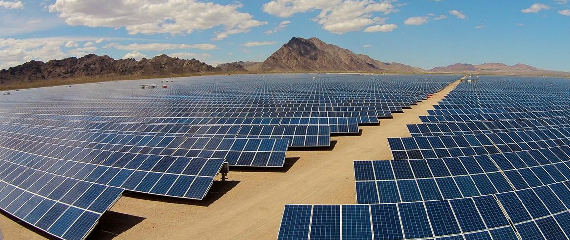 copper mountain solar plant modules