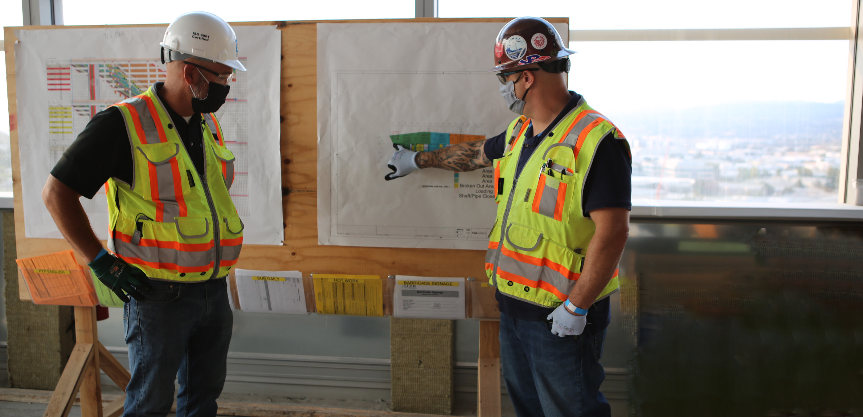 Innovative collaboration commercial electrical construction