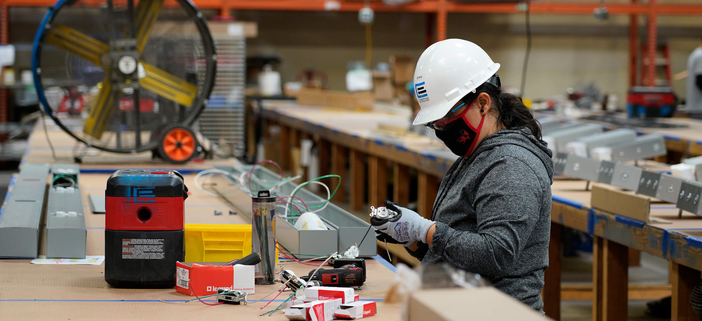 Cupertino Electric's Pre-Fabrication services